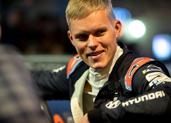 Opnieuw succes voor rallyrijder Ott Tänak