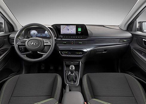 Hypermodern interieur voor de nieuwe Hyundai i20