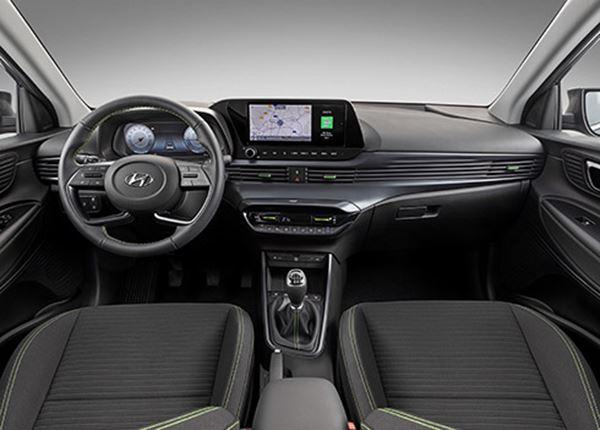 Onthulling interieurfoto's nieuwe Hyundai i20