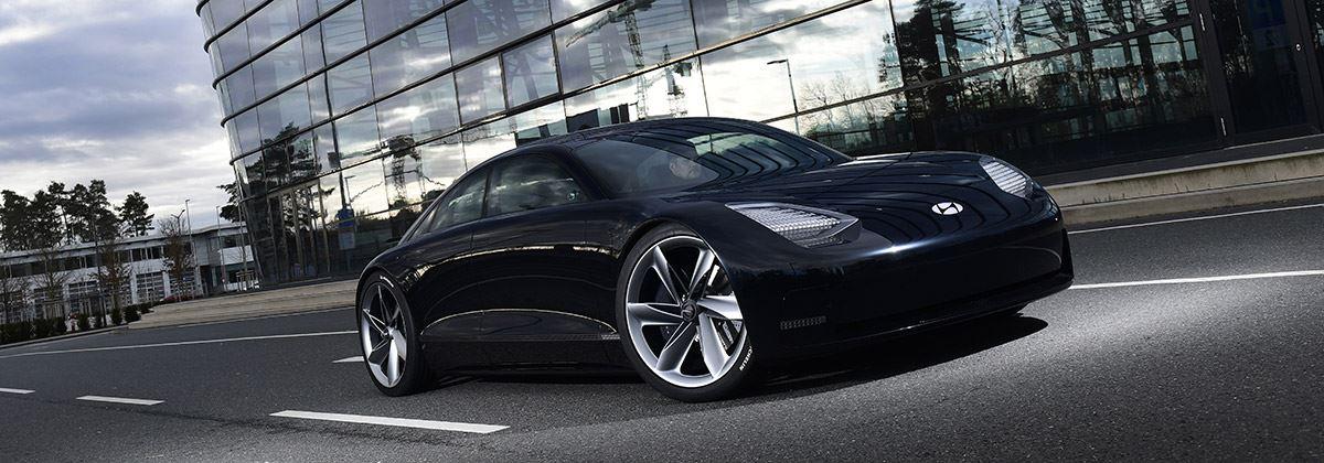 Hyundai Prophecy: deze concept car bestuur je met joysticks