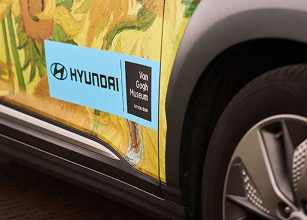 Hyundai brengt schilderijen Van Gogh bij jou thuis