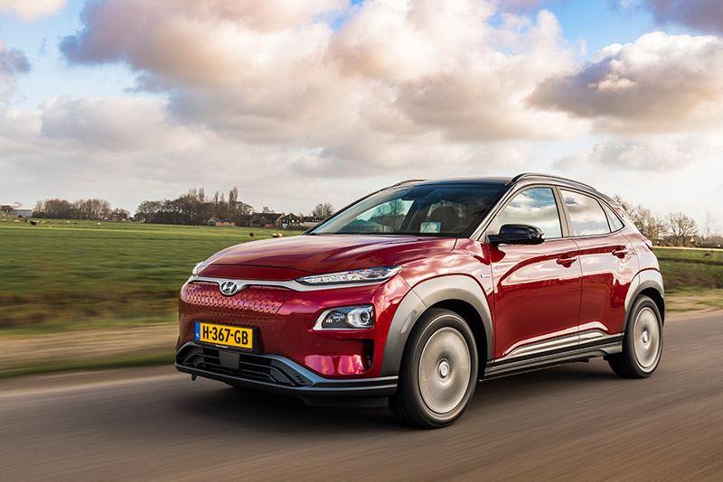 De volledig elektrische Hyundai KONA Electric, nu met 4.000 euro subsidie voor particulieren.