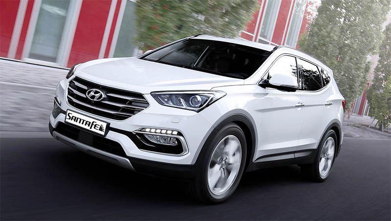 Derde generatie Hyundai Santa Fe.