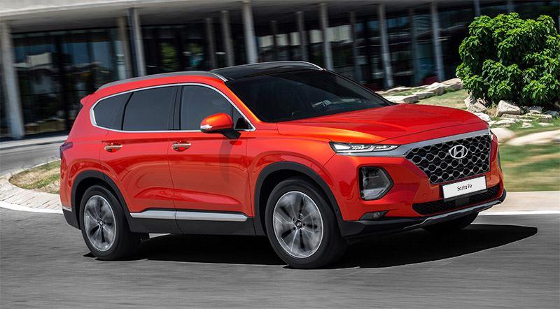 Vierde generatie Hyundai Santa Fe.