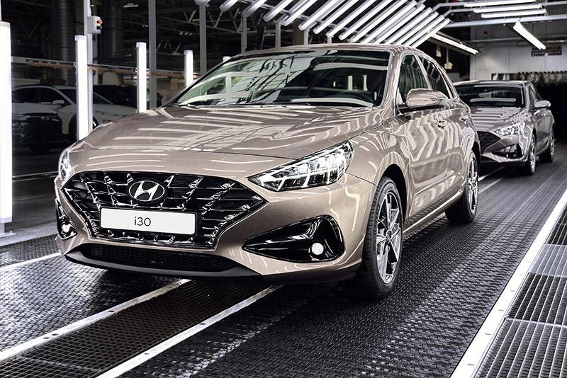 De vernieuwde Hyundai i30 wordt gemaakt in de Hyundai-fabriek in Nošovice in Tsjechië.