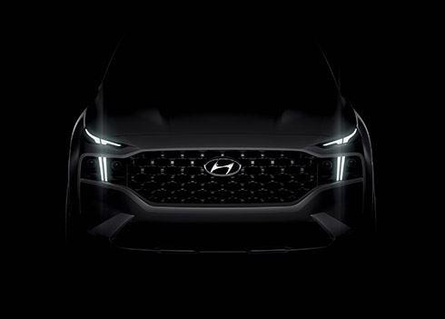 Hyundai toont glimp nieuwe Santa Fe