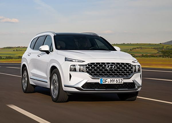 Hyundai onthult nieuwe Santa Fe