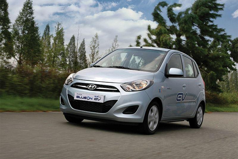 De Hyundai BlueOn.
