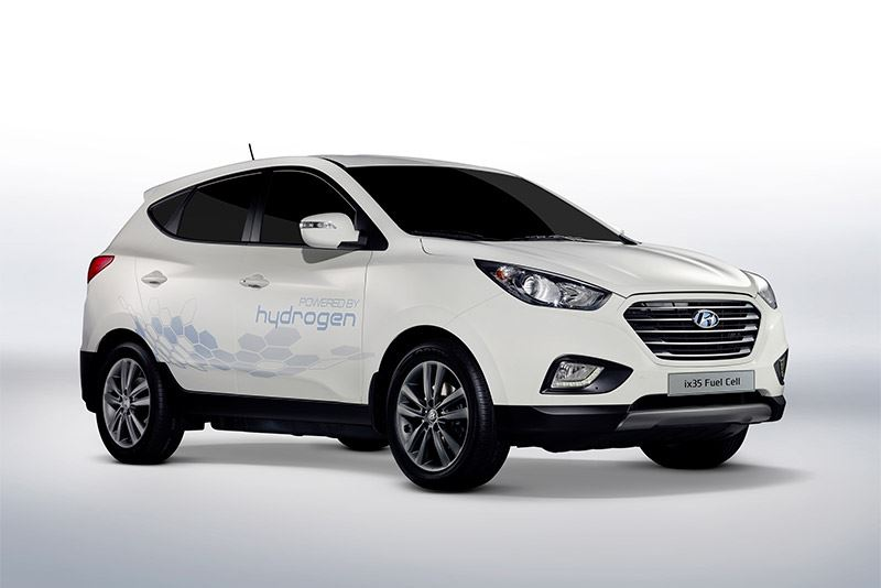 De Hyundai ix35 Fuel Cell.