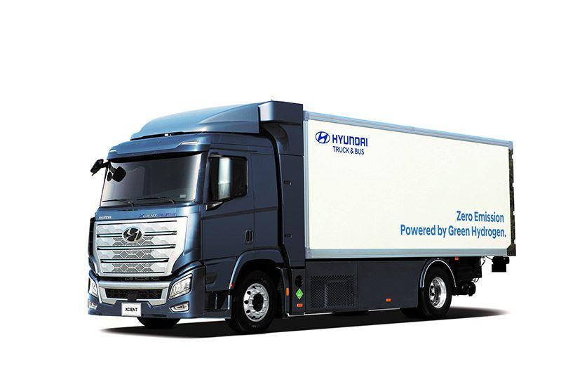 Hyundai levert 1.600 waterstoftrucks H2 Xcient aan Zwitserland.