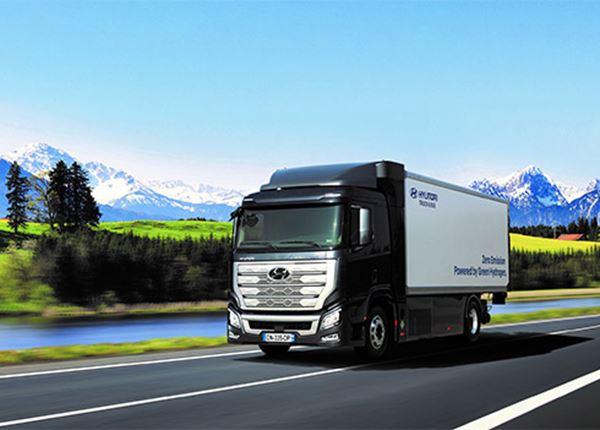 Het is Hyundai menens met trucks op waterstof