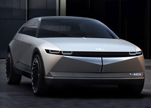 45 Concept luidt nieuw tijdperk in voor Hyundai