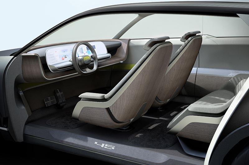 De Hyundai 45 Concept biedt de inzittenden een comfortabele omgeving.