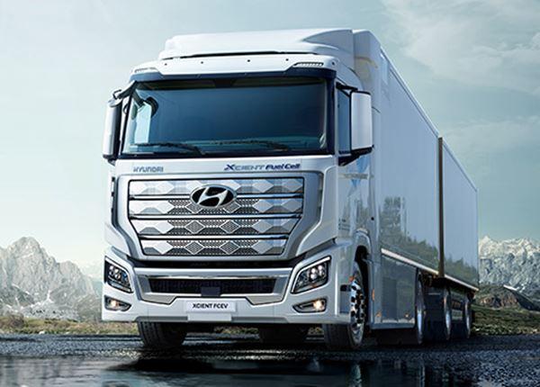 Eerste waterstof-elektrisch aangedreven trucks komen eraan!