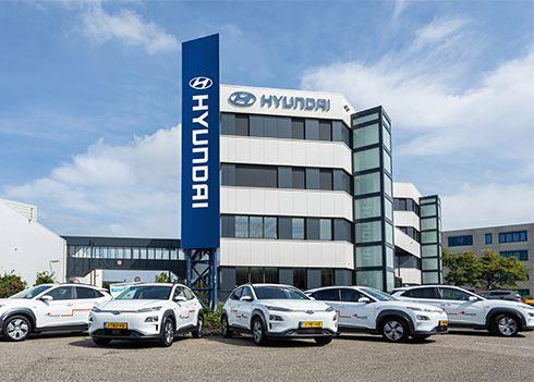 Krajicek Foundation rijdt 100 % elektrisch dankzij Hyundai
