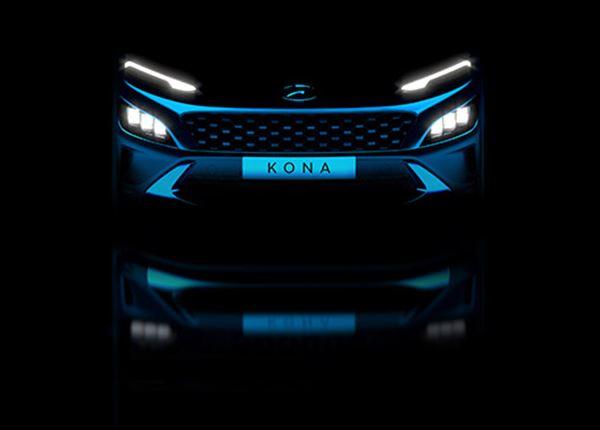 Eerste glimp gefacelifte Hyundai KONA en KONA N Line
