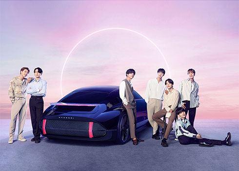 K-popband BTS en Hyundai brengen samen muzieknummer uit