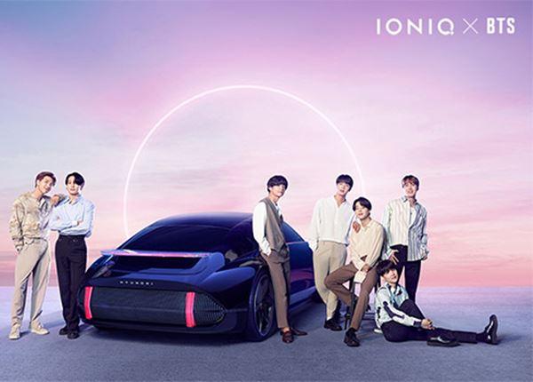 Hyundai en BTS brengen nummer 'IONIQ: I'm On It' uit