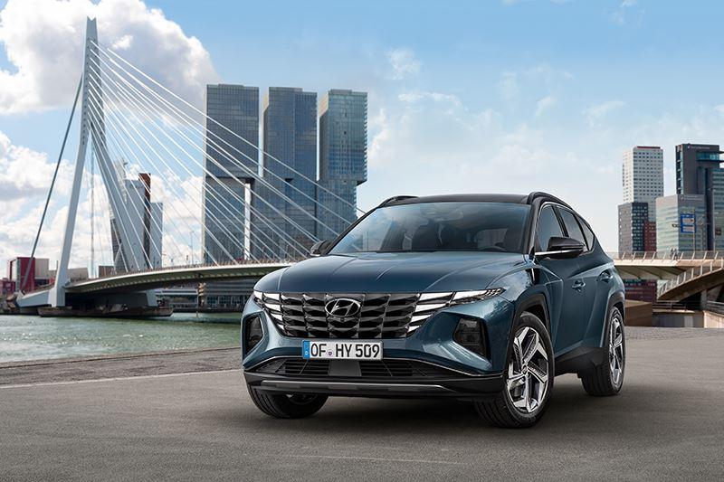 De nieuwe Tucson is de eerste SUV van Hyundai die is ontworpen volgens de spraakmakende designfilosofie Sensuous Sportiness.