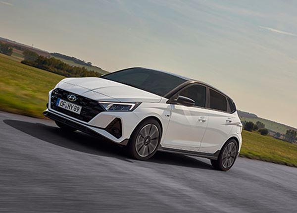 Hyundai introduceert gloednieuwe i20 N Line