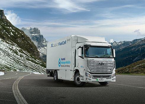 Eerste brandstofceltruck XCIENT in Europa