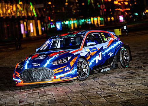 Hyundai gaat racen in nieuw elektrisch toerwagenkampioenschap ETCR