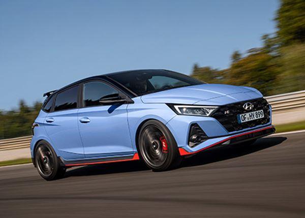 Hyundai onthult sportauto i20 N