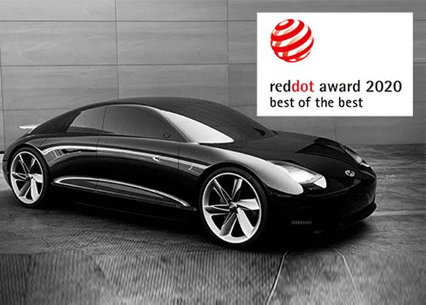 Drie Red Dot Design Awards voor Hyundai