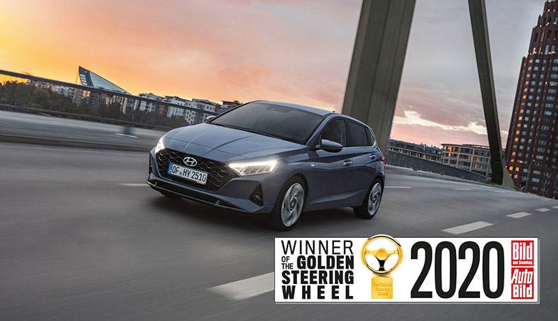 Dit jaar bereikten in totaal 24 auto's de finale van de Golden Steering Wheel, waaronder de nieuwe Hyundai i20.
