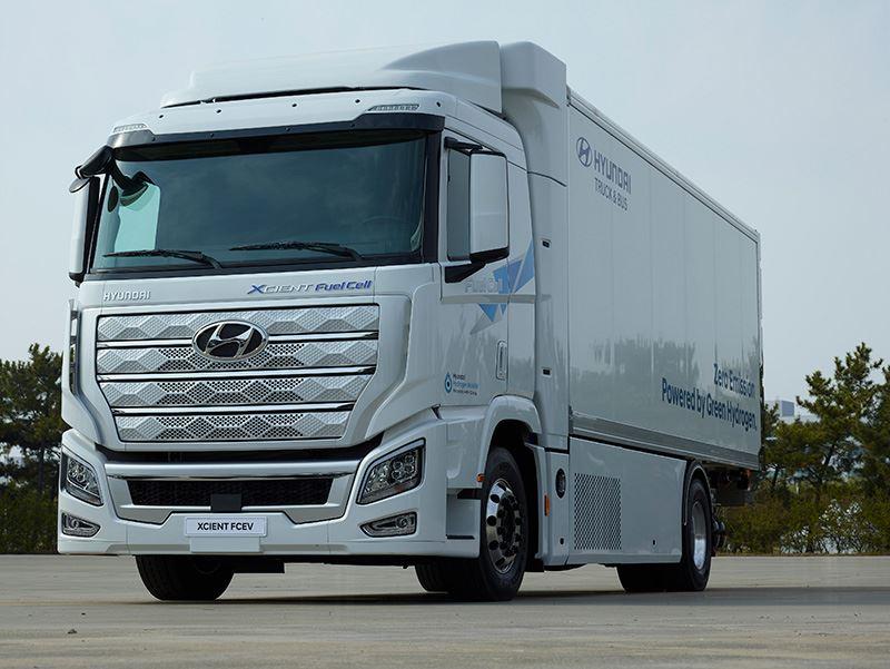 Hyundai levert zijn waterstoftruck H2 XCIENT nu ook aan China.