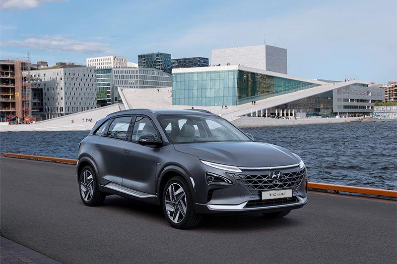 De waterstofauto Hyundai NEXO heeft een actieradius tot maar liefst 665 km (volgens WLTP).