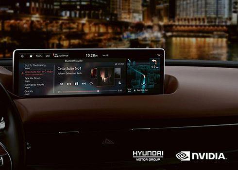 Hyundai rust modellen uit met NVIDIA DRIVE