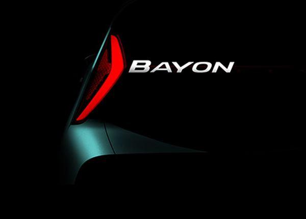 Hyundai onthult naam van nieuwe SUV: Hyundai Bayon