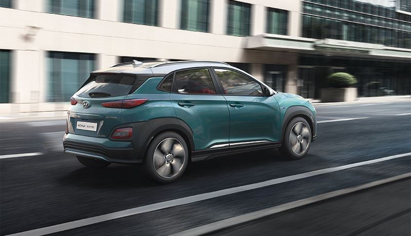 Green NCAP beloont de volledig elektrische Hyundai KONA Electric met 5 sterren.