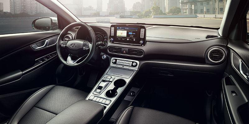 De Hyundai KONA Electric is verkrijgbaar met 39 kWh- en 64 kWh-batterijpakket.