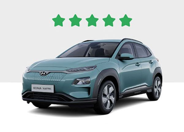 Green NCAP beloont KONA Electric met 5 sterren