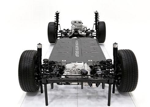 Hyundai Motor Group onthult E-GMP-platform
