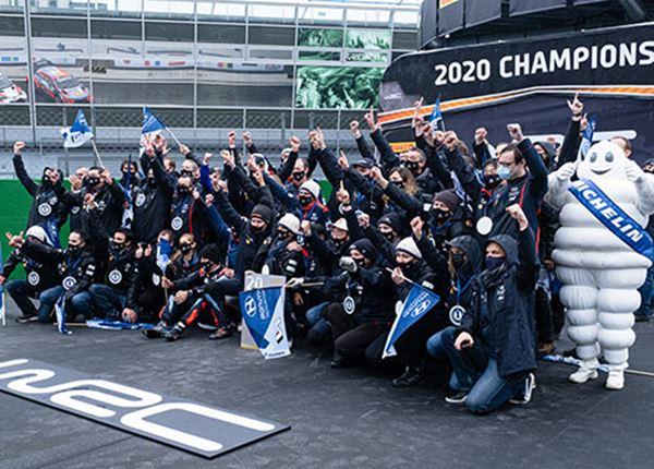 Rallyrijders Hyundai prolongeren constructeurstitel in WK