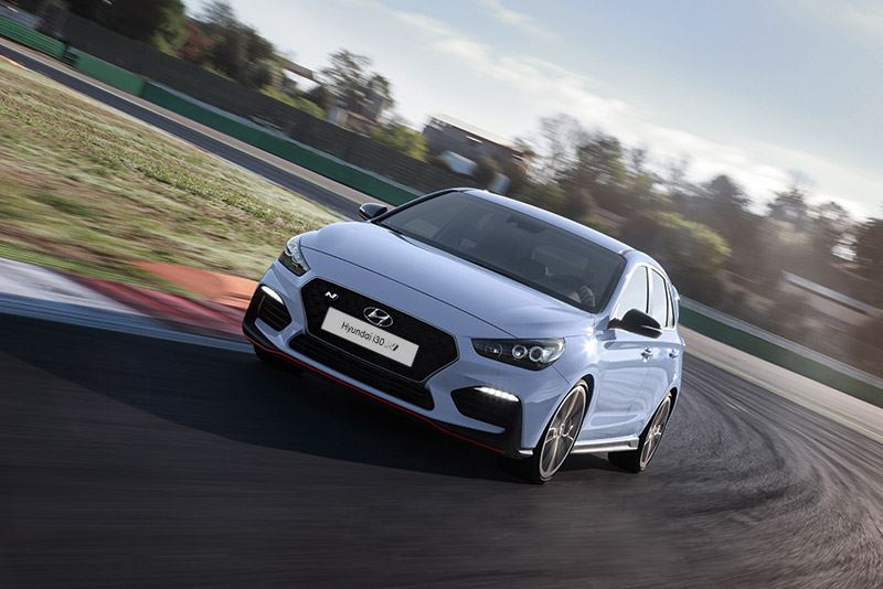 De Hyundai i30 N ontving voor de tweede keer de Auto Bild Sports Cars Award.